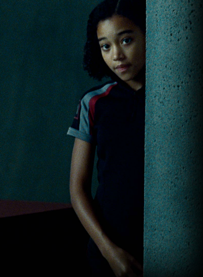 hunger games rue image Amandla Stenberg as Rue in The Hunger Games