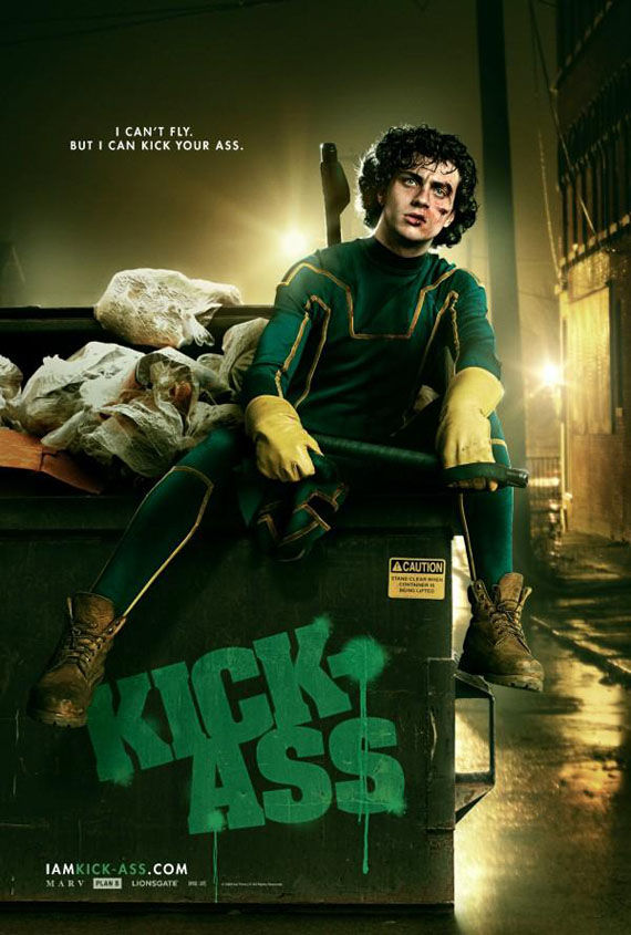 i am kick ass poster Poster Friday: Avatar, Kick Ass, Lost, Salt & More!