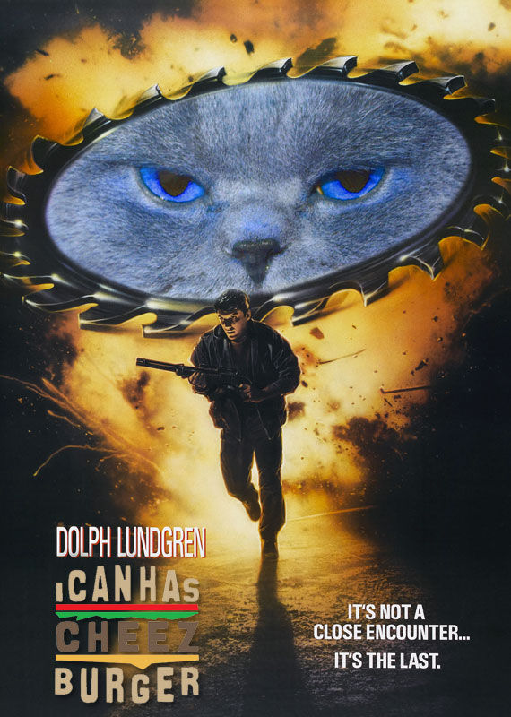 i can has cheezburger poster Website Based Movies: Some (Not So) Absurd Suggestions