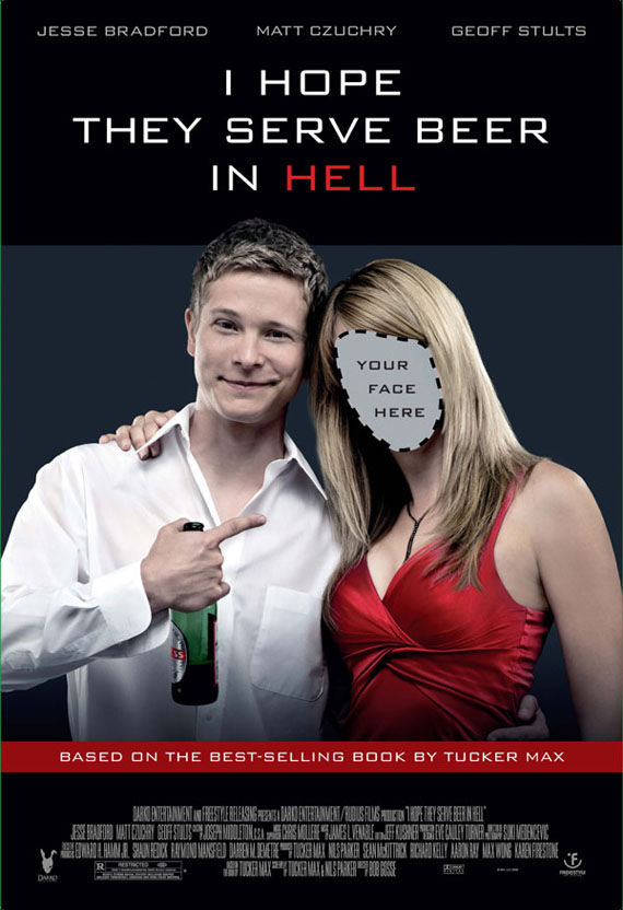 i hope they serve beer in hell poster Poster Friday: Toy Story 3, Saw VI, A Christmas Carol & Many More!