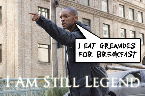 Will Smith in potential I Am Legend Sequel