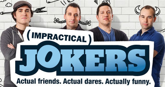 impractical jokers1 Impractical Jokers Renewed for Season 3; Diner Takeover During Comic Con