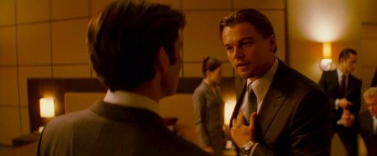 inception dicaprio business Amazing New Inception Trailer & Poster [Updated]