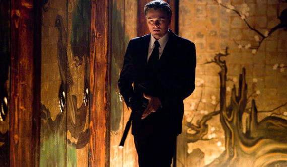 inception leo dicaprio Four New Inception Images