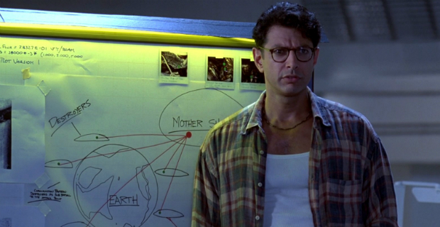 independence day 2 jeff goldblum Jeff Goldblum Confirms Independence Day 2 Talks