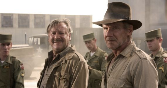 indiana jones kingdom crystal skull ford winstone Harrison Ford Joins Expendables 3; Still Open to Returning for Indiana Jones 5