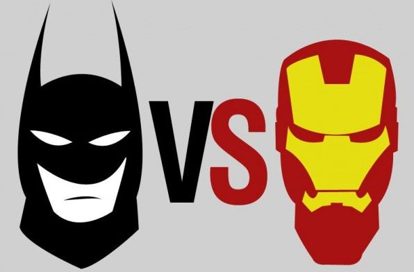 infographic batman vs iron man 1383872247 gp SR Geek Picks: Entire Movies as Gifs, Medieval X Men, Batman vs. Iron Man & More