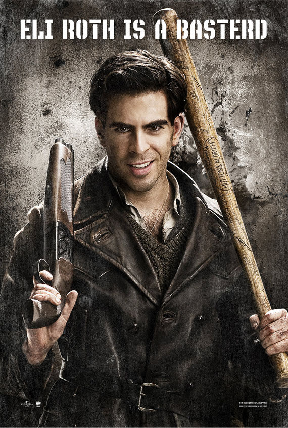 inglourious basterds eli roth Eli Roth Is A Basterd In Tarantino's 'Masterpiece'