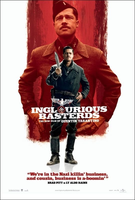 inglourious basterds new poster2 New Inglourious Basterds Character Posters