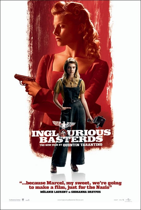 inglourious basterds new poster4 New Inglourious Basterds Character Posters