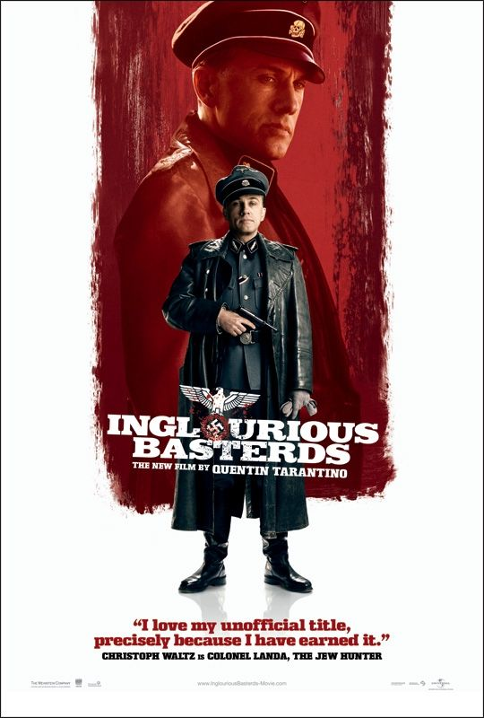 inglourious basterds new poster5 New Inglourious Basterds Character Posters