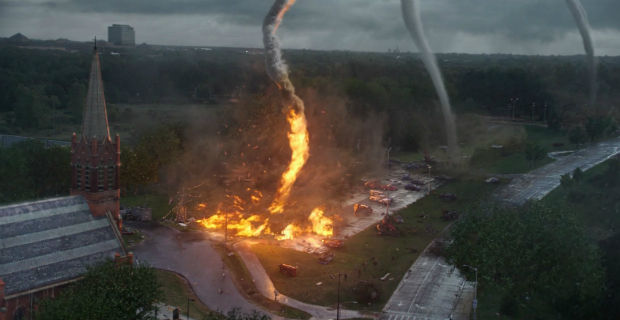into the storm trailer Into the Storm Trailer: Clash of the Tornadoes