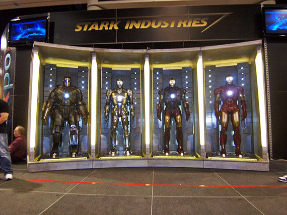 iron man 2 hall armors First Look At The Iron Man 2 Armor!