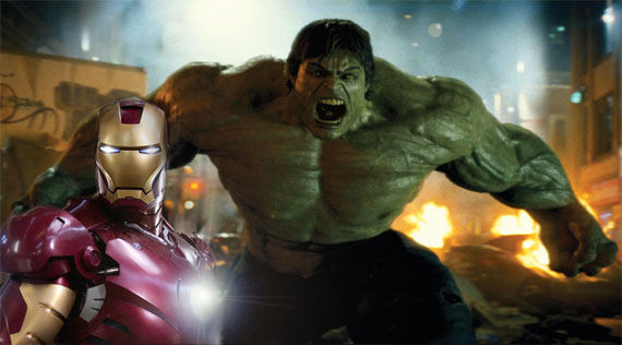 iron man 2 incredible hulk cameo avengers Hulk Confirmed For The Avengers?