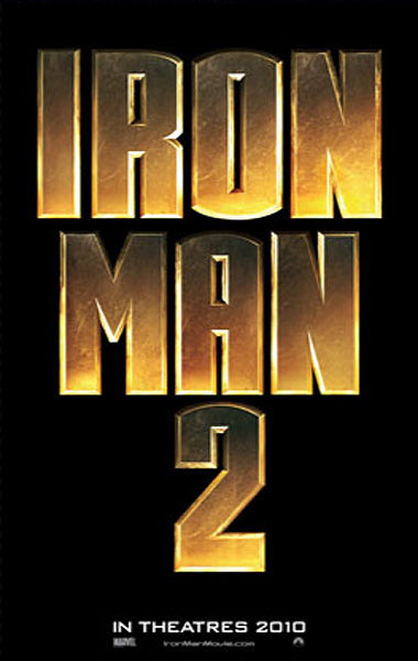 iron man 2 poster Exclusive: Iron Man 2 Green Screen Set Pics [Update]