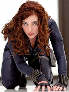 iron man 2 scarlett johansson black widow [Update] First Look at Scarlett Johanssons Black Widow!
