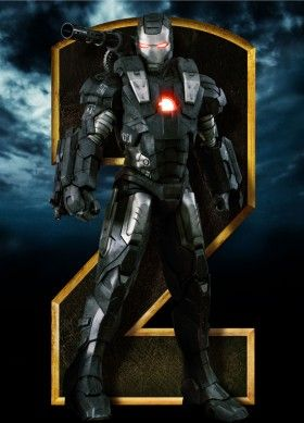 iron man 2 war machine character poster 280x389 Iron Man 2 Character Posters & More!