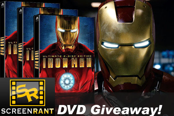 iron man dvd giveaway Iron Man DVD Contest Winners!