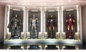 iron man hall of armor1 280x170 New Iron Man 2 Website is Sleek, Shiny & Awesome [Updated]