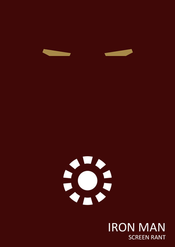 iron man minimalist poster Iron Man