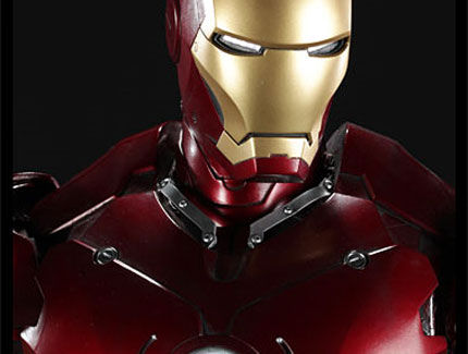 iron man statue1 SR Pick [Collectibles]: Half Scale Iron Man Mark III Maquette
