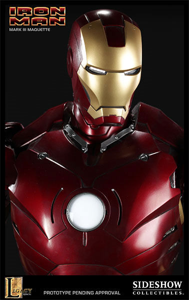 iron man statue3 SR Pick [Collectibles]: Half Scale Iron Man Mark III Maquette
