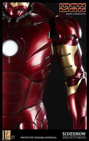 iron man statue4 SR Pick [Collectibles]: Half Scale Iron Man Mark III Maquette