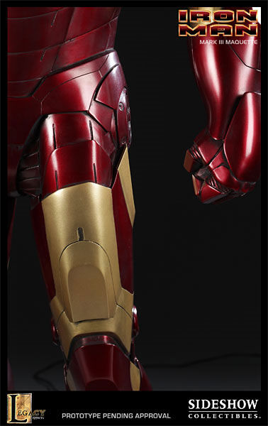 iron man statue5 SR Pick [Collectibles]: Half Scale Iron Man Mark III Maquette