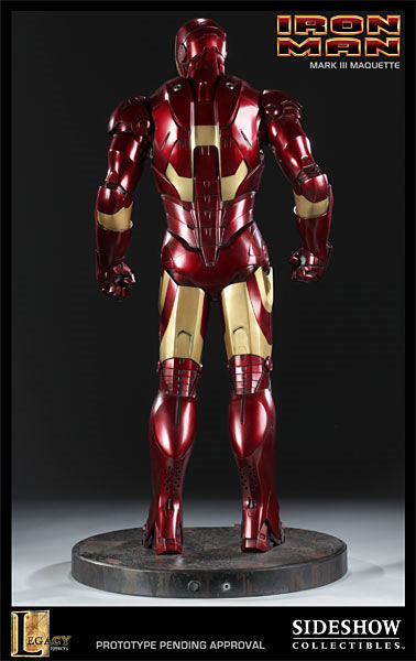 iron man statue6 SR Pick [Collectibles]: Half Scale Iron Man Mark III Maquette