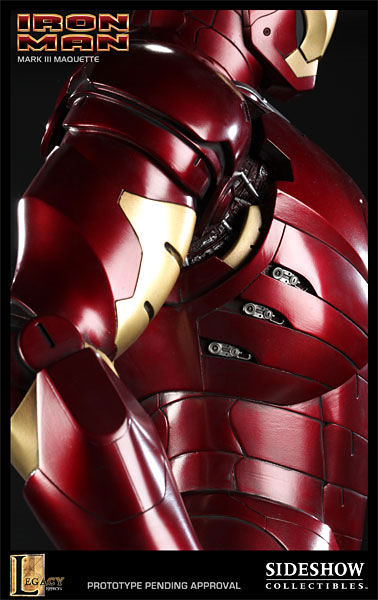iron man statue7 SR Pick [Collectibles]: Half Scale Iron Man Mark III Maquette