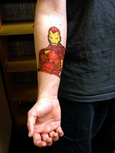 iron man tattoo Why I Loved Iron Man More Than The Dark Knight