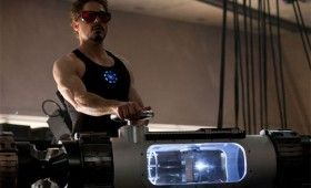 iron man tony stark laser 280x170 New Iron Man 2 Website is Sleek, Shiny & Awesome [Updated]