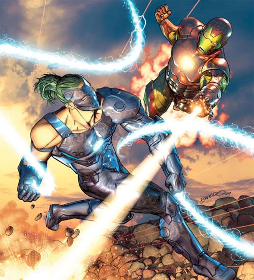 iron man vs whiplash Iron Man 2 Prequel Comic To Introduce Movie Whiplash