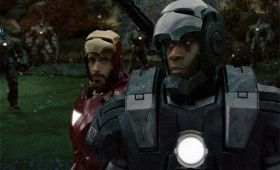 iron man war machine battle 280x170 New Iron Man 2 Website is Sleek, Shiny & Awesome [Updated]