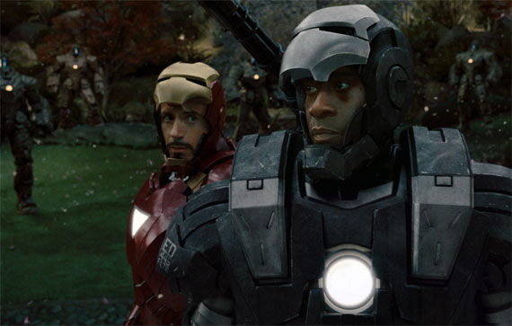 iron man war machine battle Favreau Talks War Machine In Iron Man 2