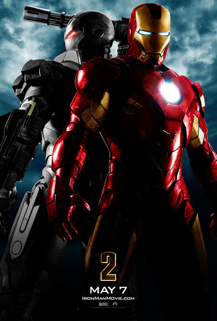 ironman2poster Official Iron Man 2 Poster (Featuring War Machine!) [Updated]