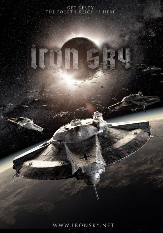 ironsky teaser poster Iron Sky: Nazi Space Invaders Are Coming!