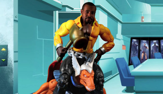 isaiah mustafa as luke cage riding beta ray bill