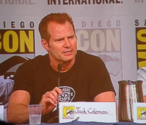 jack coleman SDCC 09: Heroes Panel (Spock vs. Spock & Claire Kissing Girls)