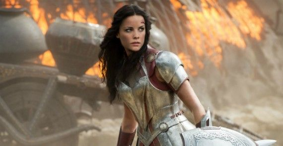 jaimie alexander batman superman wonder woman 570x294 Rumor Patrol: Olga Kurylenko Testing For Wonder Woman in Batman vs. Superman