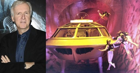 james cameron fantastic voyage James Cameron Offers Fantastic Voyage Update