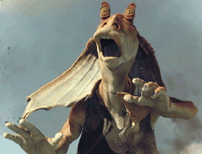 jar jar binks What Star Wars Could Have Been...