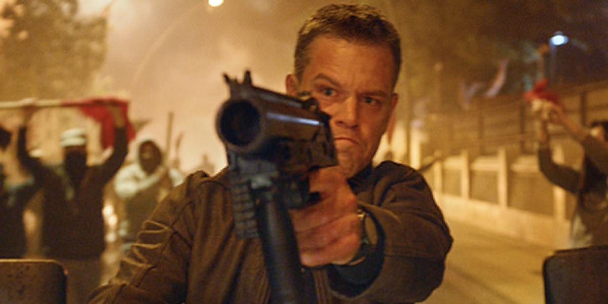 Jason Bourne Video: Matt Damon's Biggest Bourne Movie Yet Matt Damon Movies