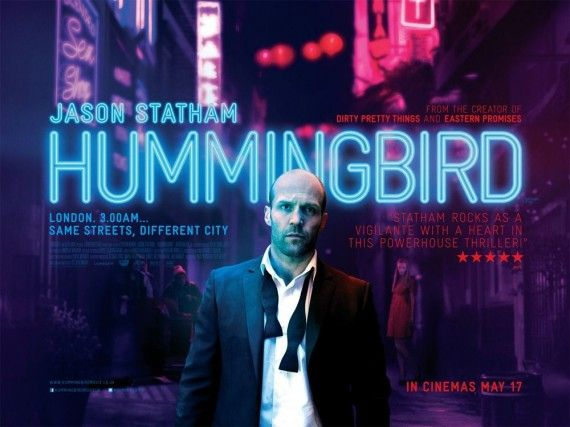 jason statham hummingbird poster 570x427 Hummingbird Poster with Jason Statham