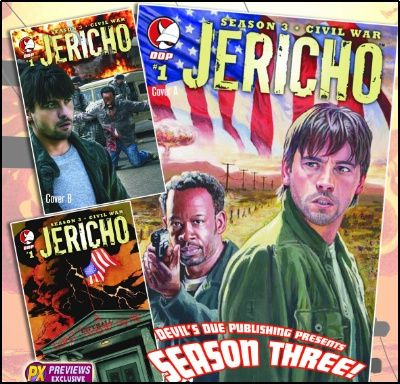 jericho season 3 Is There Really A Jericho Movie In Development?