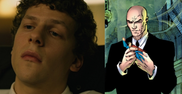 jesse eisenberg lex luthor Batman vs. Superman: Young Luthor Explained & Damon Comments on Batsuit