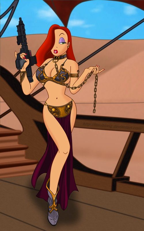 jessica rabbit slave leia SR Geek Picks: 2013 Movie Year Lists, Predator Hunger Games & More