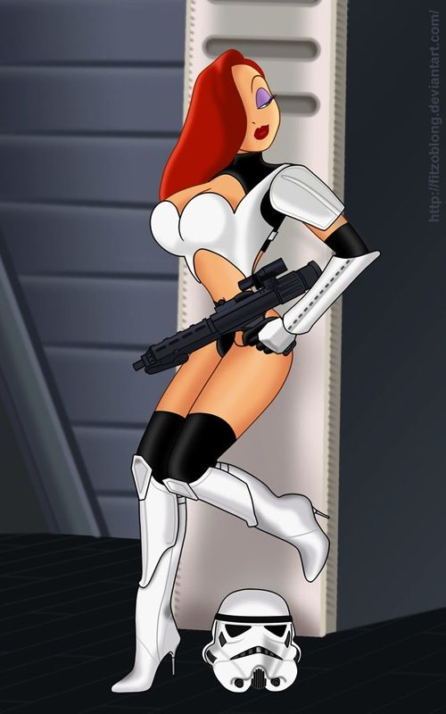 jessica rabbit stormtrooper SR Geek Picks: 2013 Movie Year Lists, Predator Hunger Games & More