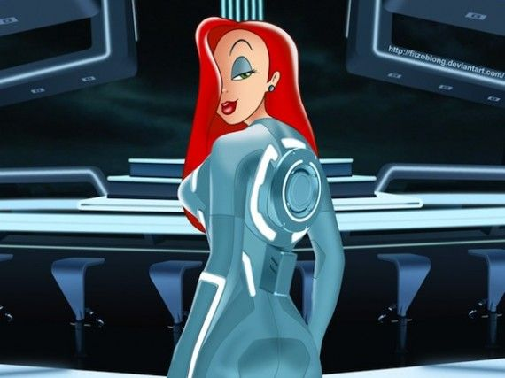 jessica rabbit tron 2 570x427 SR Geek Picks: 2013 Movie Year Lists, Predator Hunger Games & More