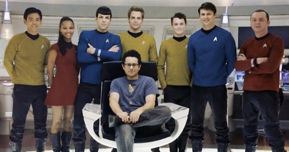 jj abrams star trek 3 director J.J. Abrams Talks Almost Human; Says CBS Not Interested in Star Trek TV Show